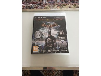 Ps3 - Batman Arkham Asylum Inkl. 3D Glasögon