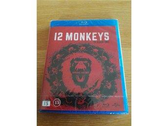 12 Monkeys säsong 1 (Bluray, Ny och inplastad) - Söderköping - 12 Monkeys säsong 1 (Bluray, Ny och inplastad) - Söderköping