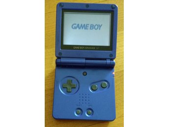 Gameboy / GBA / Game Boy Advance SP (AGS-001) utan laddare