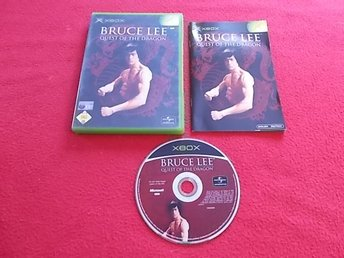 BRUCE LEE QUEST OF THE DRAGON  till Xbox