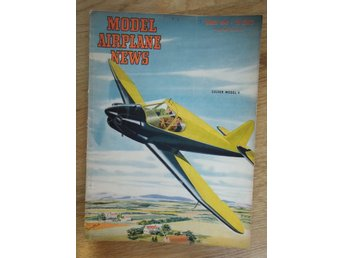 Tidningen Model Airplane News 3/1946