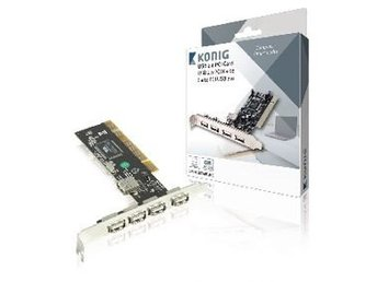 König PCI-kort USB 2.0 Normal