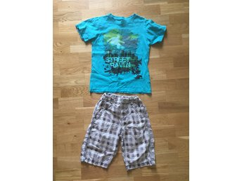 Shorts med T-shirt