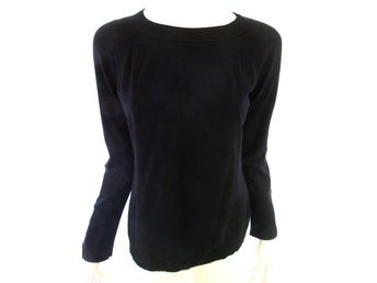 InWear Sweater Size L Black Viscose Denmark