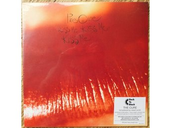"The Cure ""Kiss Me Kiss Me Kiss Me"" Limited Edition, Numbered, Red 180g vinyl"