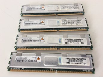 8 GB totalt (4x 2 GB) Ramminnen PC2-5300F-555-11