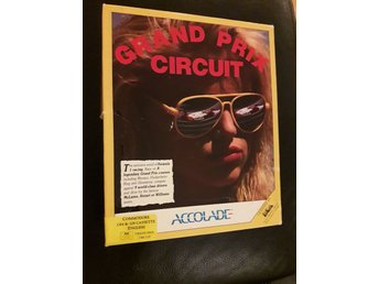 Commodore 64 / 128 Spel Kasett Grand Prix Circuit