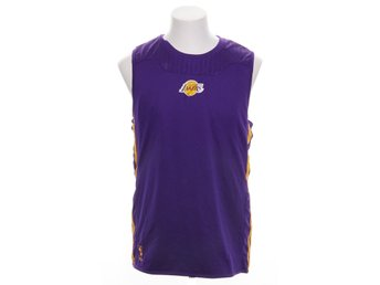 Adidas, Linne, Strl: M, Basketlinne Lakers, Lila/Gul