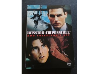 Mission Impossible 1 & 2  - Collector´s Set 2 Disc - Svensk text