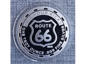 Route 66 Get Your Kicks 1 oz Ag