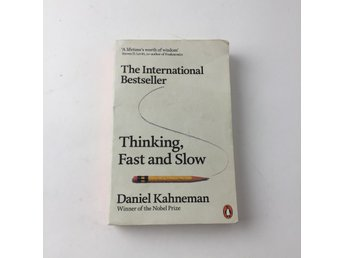 Bok, Thinking, Fast and Slow, Daniel Kahneman, Pocket, ISBN: 9780141033570