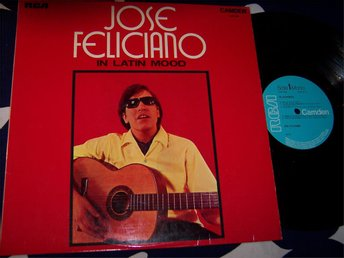 JOSE FELICIANO - IN LATIN MOOD LP 1971