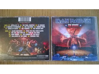 Iron Maiden - En Vivo!, 2 x CD