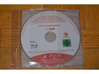 Driver San Francisco Playstation 3 PS3 Endast Skiva