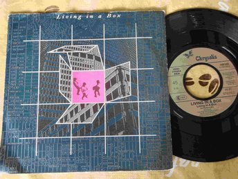 "LIVING IN A BOX - LIVING IN A BOX 7"" 1987 - Sundsvall - LIVING IN A BOX - LIVING IN A BOX 7"" 1987 - Sundsvall"