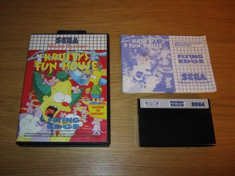 SEGA MS/PAL: Krustys Fun House (komplett)