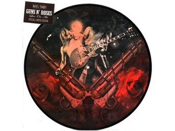 Guns N' Roses: Live on air (Picturedisc) (Vinyl LP) FRAKTFRITT
