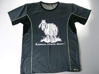Sport t-shirt - Baaaa Means No » - MEDIUM - Vänersborg - Sport t-shirt - Baaaa Means No » - MEDIUM - Vänersborg