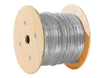 EXC F/UTP CAT.5e Stranded Wire Cable Grey 500m Drum