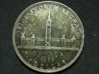 CANADA 1 DOLLAR 1939 GEORGE VI ROYAL VISIT