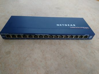 Netgear prosafe 16 port 10/100 switch model fs116