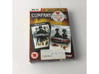 DVD VIDEO, PC-spel, Company of Heroes