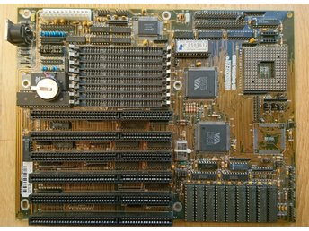 RARE 1993 Motherboard FIC 4386-VIO 486, ISA , for 386 and 486 CPU upto DX2/80