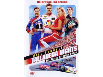 Talladega Nights: The Ballad of Ricky Bobby (DVD), Actionkomedi med Will Ferrell