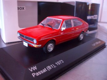 VW Passat (B1) 1973, röd, limited  1:43, MINT!