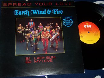 "EARTH WIND & FIRE - SPREAD YOUR LOVE 12"" 1982"