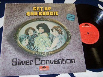 SILVER CONVENTION - GET UP AND BOOGIE ! LP 1976
