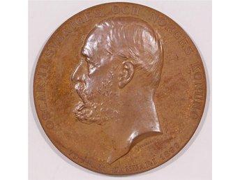 Oscar II 70 år, 21 januari 1899. Medalj - Stockholm - Oscar II 70 år, 21 januari 1899. Medalj - Stockholm