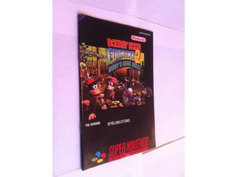 SNES: Manualer: Donkey kong Country 2 (End. manual - Tysk)