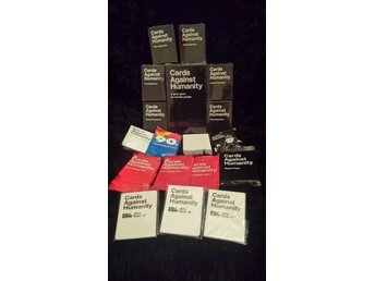 Cards against humanity med expansion 1-6 och 10 miniexpansioner - örebro - Cards against humanity med expansion 1-6 och 10 miniexpansioner - örebro