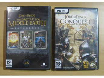 Pc spel Lord of the Rings Battle for Middle-earth Conquest