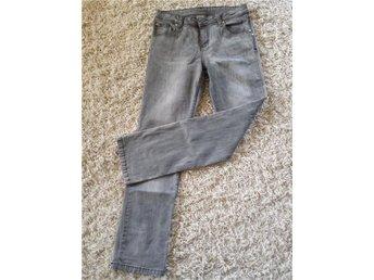 Jeans, grå, stretch,bootcut,stl.38/40 - Sollentuna - Jeans, grå, stretch,bootcut,stl.38/40 - Sollentuna