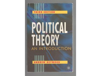 Political theory - an introduction