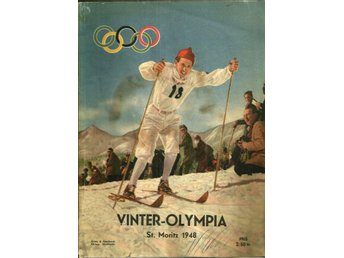 **  NILSSON, TORE. Vinter-Olympia 1948  **