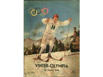 ** NILSSON, TORE. Vinter-Olympia 1948 ** - Gnosjö - ** NILSSON, TORE. Vinter-Olympia 1948 ** - Gnosjö