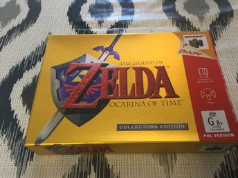Zelda Ocarina of Time Collector's Edition Rare pal