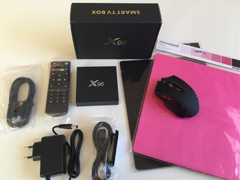 Android 6.0 Superbox X96 4K Stream 2GB RAM Android box med extra tillbehör - Kil - Android 6.0 Superbox X96 4K Stream 2GB RAM Android box med extra tillbehör - Kil