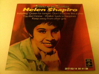 Helen Shapiro - Stars Of The Sixties - Helen Shapiro