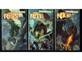 The year of rogue dragons book 1-3 (På engelska)