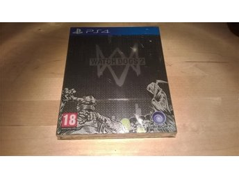 Watch Dogs 2 Steelbook Nordic Edition Playstation 4 NYTT