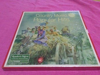 Country music Popular Hits (LP Box)