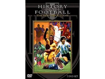 History Of Football (7Discs) - Fotbolls Historia - DVD Box