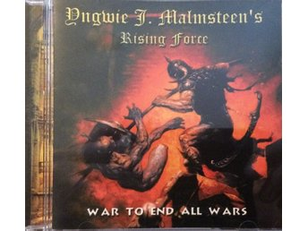 YNGWIE MALMSTEENS RISING FORCE WAR TO END ALL WARS TOPPSKICK!