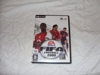 EA Sports Fifa Football 2005 PC CD ROM Engelsk soccer game