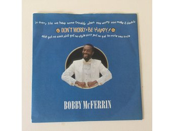 "BOBBY McFERRIN - DON´T WORRY BE HAPPY. (7"")"