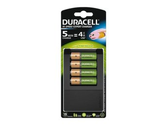 Duracell Universal laddare CEF15, inkl 4x AA
